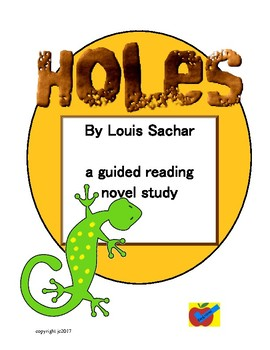 Holes guided reading novel plan