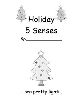 Holiday 5 Senses Easy Reader