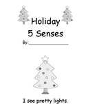 Holiday 5 Senses Easy Reader