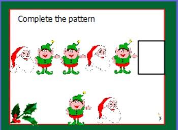 Holiday ABB patterns