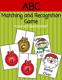 Holiday ABC Letter Matching Game