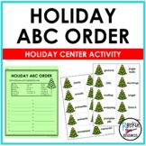 Holiday ABC Order