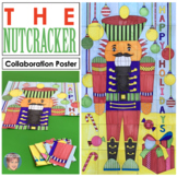 Nutcracker Classroom Collaboration Door Poster - Great Holiday Activity!