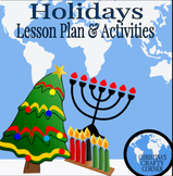 Holiday Activities: Christmas, Kwanza, and Hanukkah
