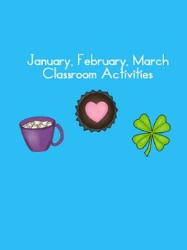 January, February, March activities first, second, third grade