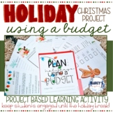 Holiday Activities: 4th & 5th grade Winter Project for Budgeting Money