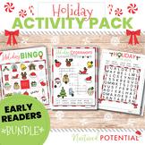 Early Readers (K-2) Christmas Activity Bundle **Bingo, Cro