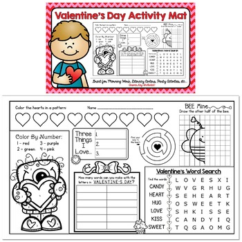 Holiday Activity Mat BUNDLE: Includes 11 Special Days & Holidays