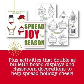 Christmas & Winter Holiday Activities: 20+ Pgs of Fun Activities for Secondary