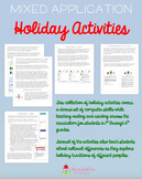Computer Science Holiday/Winter Activity Pack