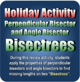 Holiday Activity: Perpendicular Bisector and Angle Bisecto