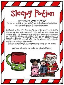 Christmas Sleepy Potion
