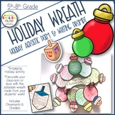 Holiday Activity-Wreath-Acrostic Poem & Writing Prompt