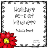 Holiday Acts of Kindness Freebie