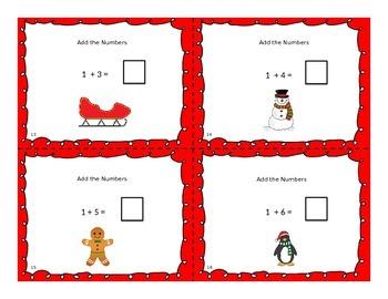 Holiday Adding Task Cards