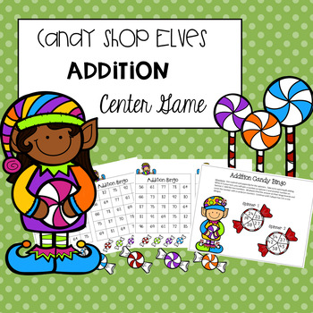 Christmas Addition Center Game