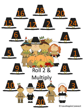 Holiday Addition, Subtraction, & Multiplication Bump Game Bundle