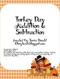 Holiday Addition, Subtraction, and Equal