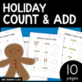 Holiday Addition Worksheets!