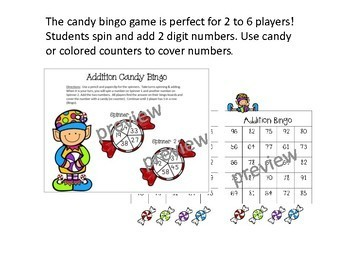 Christmas Holiday Addition and Subtraction Centers Math Bundle