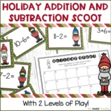 Christmas Addition and Subtraction Scoot | A Holiday Review Game