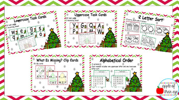 Holiday Alphabet Bundle