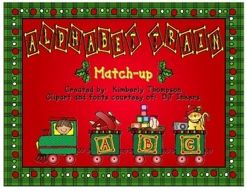 Holiday Alphabet Train Activity Download