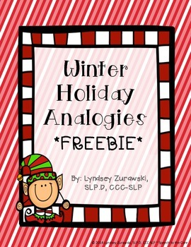 Holiday Analogies FREEBIE!