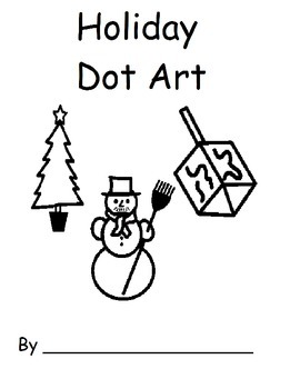 Holiday Dot Art
