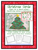 Christmas Tree Holiday Card - Art & Writing Lesson