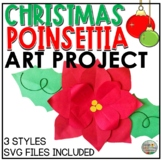 Holiday Art Project Poinsettia