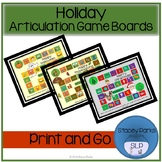 Holiday Articulation Game Boards