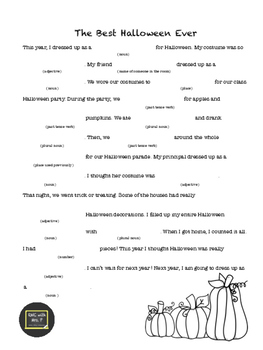"Holiday Articulation Mad-libs Featuring ""R"" (Halloween, Thanksgiving, Christmas)"