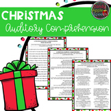 Christmas Auditory Comprehension Pack