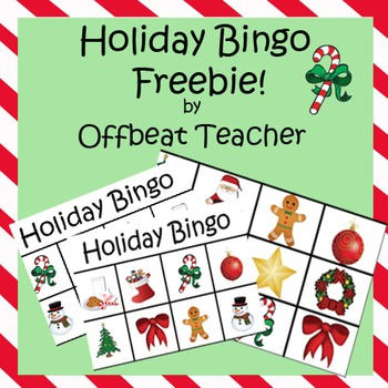 Holiday BINGO - FREEBIE!