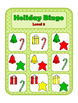 Holiday BINGO: for sentence expansion and following directions
