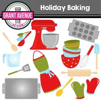 Holiday Baking Clipart