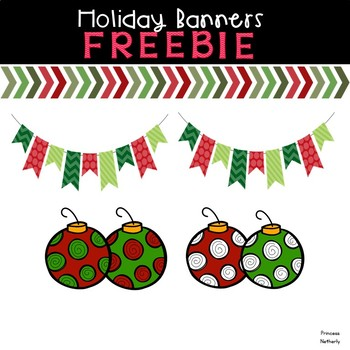 Holiday Banners Freebie