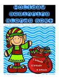 Holiday Beginning Blends {S blends, R blends, L blends}
