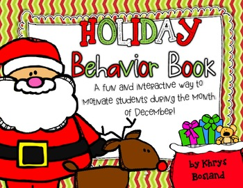 Holiday Behavior Book {Positive Behavior Incentive} {Fun & Motivating}