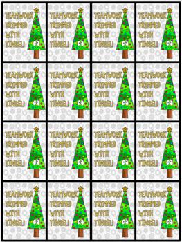 Holiday Behavior Brag Tags - Christmas Incentives