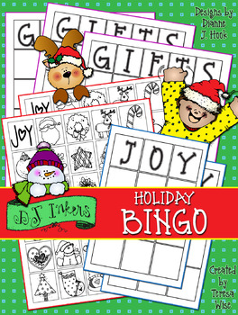 Holiday Bingo Activity Download