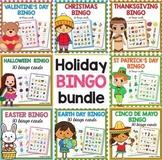 Holiday Bingo BUNDLE -  Christmas Bingo
