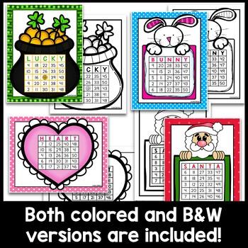 Holiday Bingo BUNDLE - Save over 30%