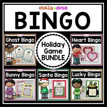 Holiday Bingo BUNDLE - Save over 40%