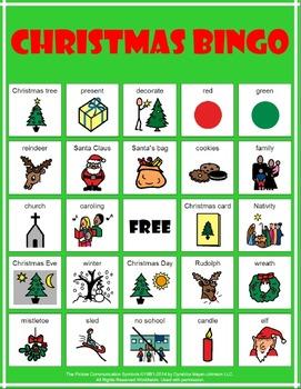 Holiday Bingo Boards