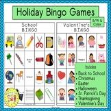Holiday Bingo Games