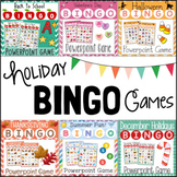 Holiday Bingo Games for Powerpoint BUNDLE