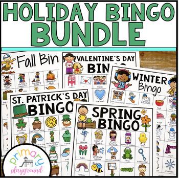 Holiday Bingo Growing Bundle