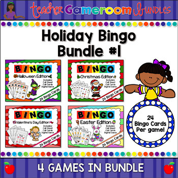 holiday bingo powerpoint game bundle holiday bingo powerpoint game bundle
